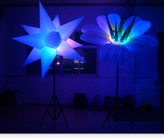 Customized  Inflatable Lighting With Seaweed Party Led Light