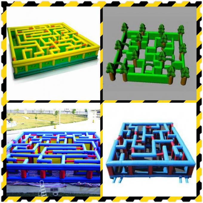 Commercial Grade Inflatable Maze Games For Children And Adults