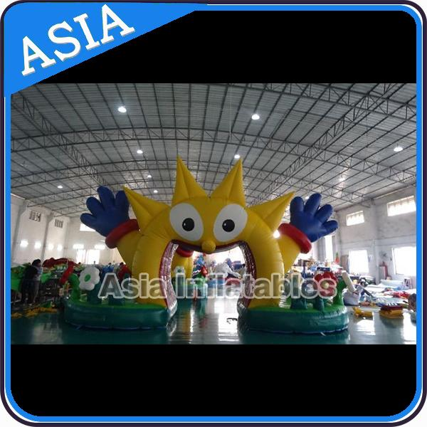 Inflatable Airtight Water Floating Stand Arch For Advertising Promotion Or Game