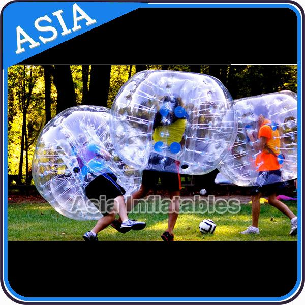 Hot colour inflatable bubble soccer , Kids inflatable bubble football , Human loopy ball
