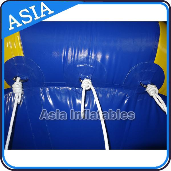 8 People Airtight Towable Inflatable Boats Water Equipment Fireproof For Sea