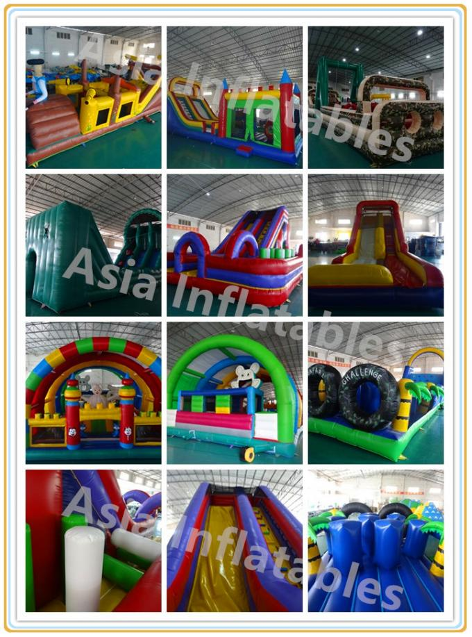 New Adrenaline Rush Extreme Obstacle Course Inflatable Challenge for Sale