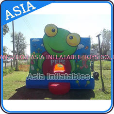 Inflatable Bouncer Sapo Pepe Bouncy Castle For Party Hire Outdoor Games