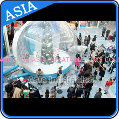 Christmas Inflatable Snow Globe Inflatable Bubble Tent Water And Fire Proof