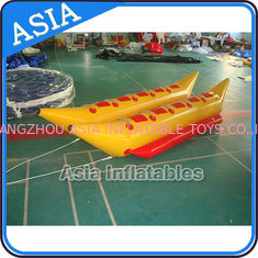 چین Water Games Inflatable Boats Double Tubes Flying Fish Inflatable Banana Boat کارخانه