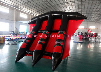 چین Customized Logo Towable Inflatables / Inflatable Flying Fish For Sea کارخانه