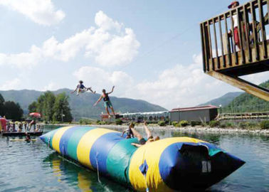 Floating Inflatable Water Trampolines , Lake Inflatable Water Blob