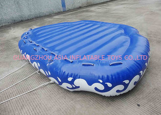 چین 4 Passangers Inflatable Water Ski Tubes Towable Water Surfboard Platform For Beach کارخانه