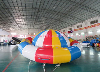 Ocean Disco Boat Inflatable Towable Tube / Floating Spinner Boat