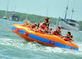 Fun Beach Surfing Water Sport Games / Inflatable Flying Towable Tube