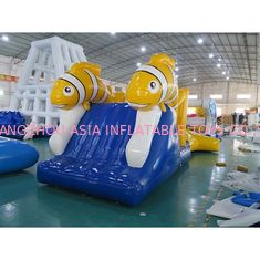 تم هیجان انگیز Nimo Theme Aqua Run Inflatables / Blow Up Course asteng Water
