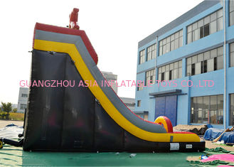 Ice Age Theme Inflatable Slide Rental Double Slide With Palm Tree / Inflatable Ice Age Slide