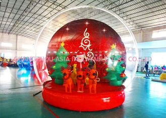 Holiday Decoration Large Christmas Inflatable Snow Globe 3m To 8m Diameter