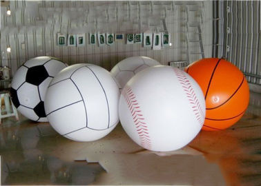 چین Giant Inflatable Football Basketball Sports Balloons Advertising Sport Ball کارخانه