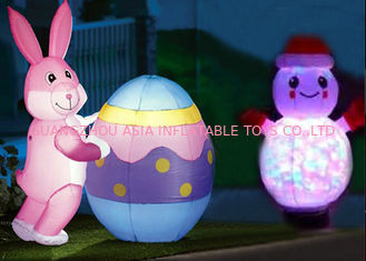 چین Low Price Custom Inflatable Animals With Led Lighting For Decoration کارخانه