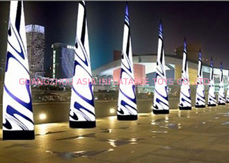 چین LED Light Inflatable Standing Cone,Lighting Decoration Inflatables کارخانه