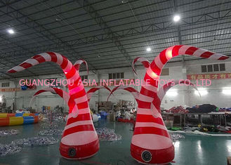 چین Beauty Inflatable Tentacle With Led Lighting For Party / Stage / Room Decoration کارخانه