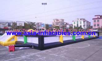 چین Portable Large Inflatable Soccer Pitch For Commercial Use , Inflatable Soccer Field کارخانه