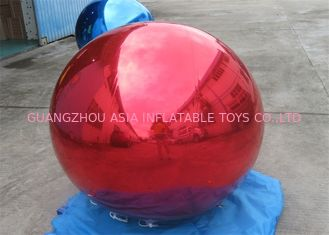 چین Inflatable Colorful Mirror Balloon Event Use Inflatable Ground Mirror Ball کارخانه