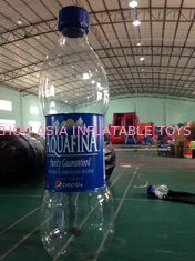 چین Commercial  Inflatable Advertising Water Bottle For Business Rental کارخانه