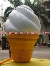 چین Custom Inflatable Ice Cream Model  for Outdoor Advertising کارخانه