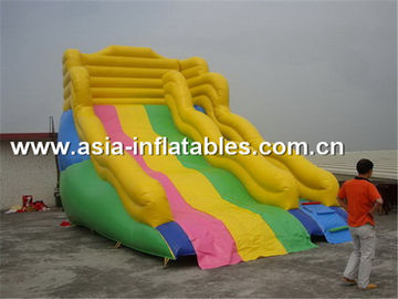 Commercial Grade Inflatable Water Slide For Aquatic Park Games