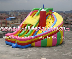 Commercial Inflatable Twister Slide Games For Kids