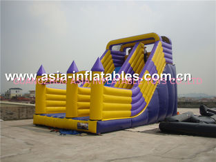Hot Sale Inflatable Dry Slide With Arch Doors For Chidlren Park Outdoor Games