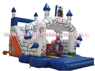 Classocal Inflatable Castle Bouncer And Slide Combo For Kids