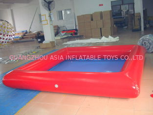 Square Shape Colorful Kids Inflatable Pool for Indoor Using