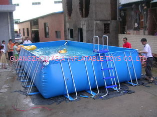 Lovely New Design Huge Commercial PVC Adults and Kids Inflatable Pool with Various Colours