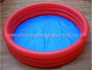 Eco friendly 0.6mm PVC tarpaulin Kids Inflatable Pool for Outdoor Play