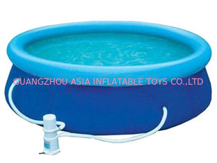 Blue Colour Kids Inflatable Pool Center with Water Filters