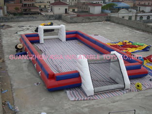 چین China Supplier Inflatable Sports Football Pitch Without Floor Sheet , Inflatable Soccer Field کارخانه