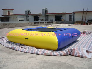 Air Tight Inflatable Water Square Trampoline Water Toys For Water Sport Games