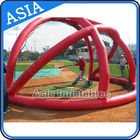 Batting Backstop Large Inflatable Tents For Baseball Field Or Playground تامین کننده