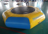 Commercial Water Games Inflatable Crocodile Water Trampoline With 0.9mm Pvc Tarpaulin تامین کننده