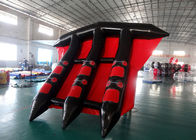 Customized Logo Towable Inflatables / Inflatable Flying Fish For Sea تامین کننده