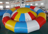 Ocean Disco Boat Inflatable Towable Tube / Floating Spinner Boat تامین کننده