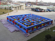 Inflatable Tunnel Maze Game, Inflatable Maze Field For Chilren تامین کننده
