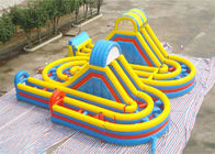 New Adrenaline Rush Extreme Obstacle Course Inflatable Challenge for Sale تامین کننده
