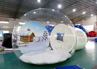 Inflatable Snow Globe for Sale with Background تامین کننده