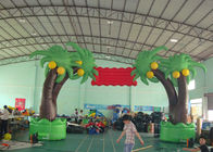 Customized Inflatable Tree Arch For Event , Outdoor Decoration Inflatable Arch تامین کننده