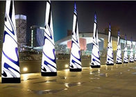 Party Stage Decoration Inflatable Cone with LED Lighting تامین کننده
