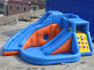 Pink Inflatable Amusement Park With Mini Princess Bouncer Castle With Slide تامین کننده