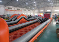 Anti - Ruptured Inflatable Obstacle Challenges , Blow Up Off - Road Car Obstacle Course
