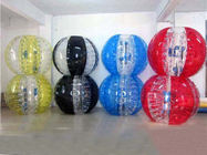 1.5m colorful bubble soccer for adults , inflatable bumper ball تامین کننده