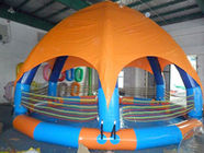 چین Family Size Kids Inflatable Pools With Tent Cover کارخانه