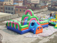 چین Water Floating Obstacle Games, Inflatable Obstacle Course For Adult کارخانه