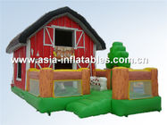PVC inflatable combos/ inflatable jumping castle bouncy house combo تامین کننده